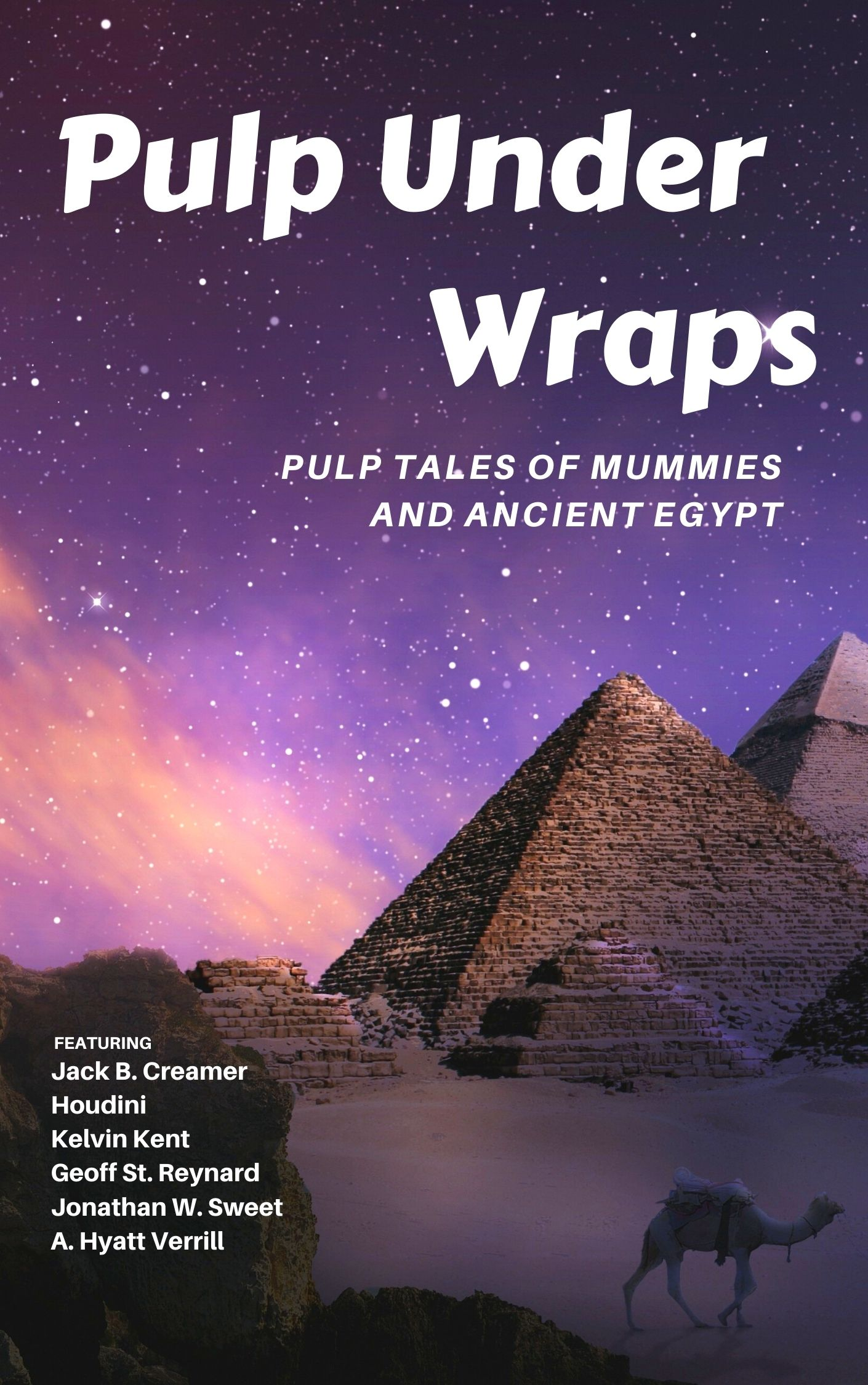 Pulp Under Wraps: Pulp Tales of Mummies and Ancient Egypt
