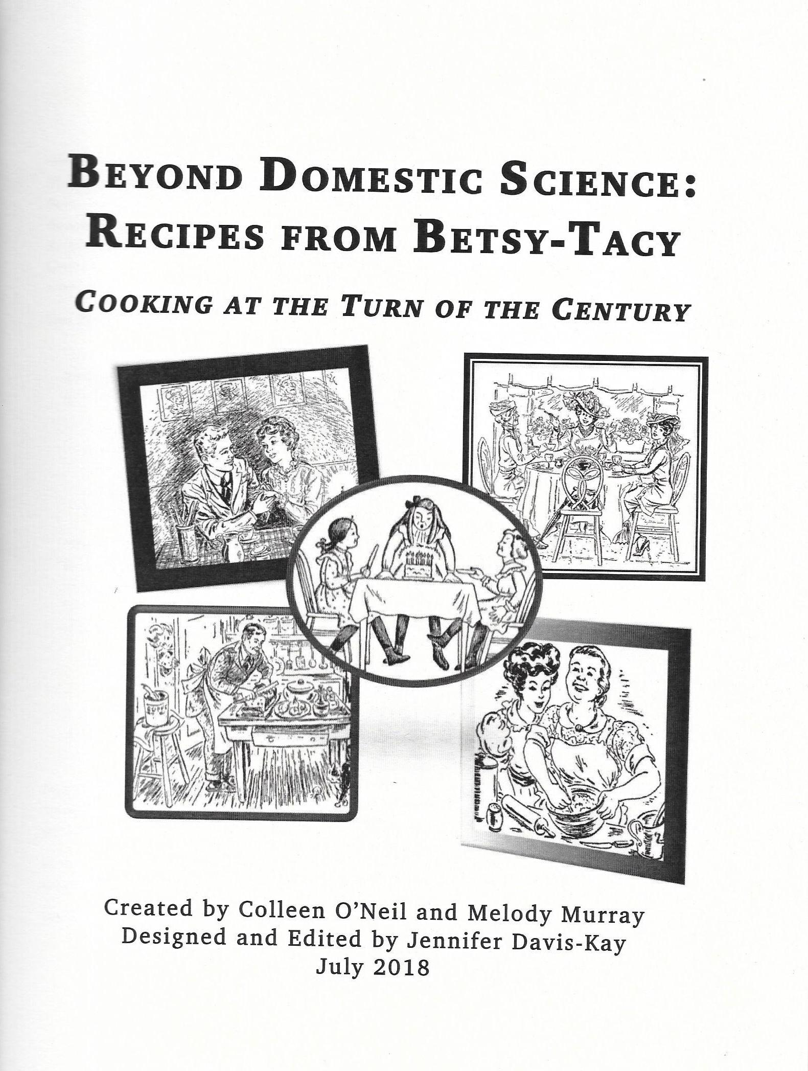 Beyond Domestic Science cookbook