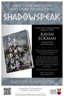 Shadowspeak (hardcover)