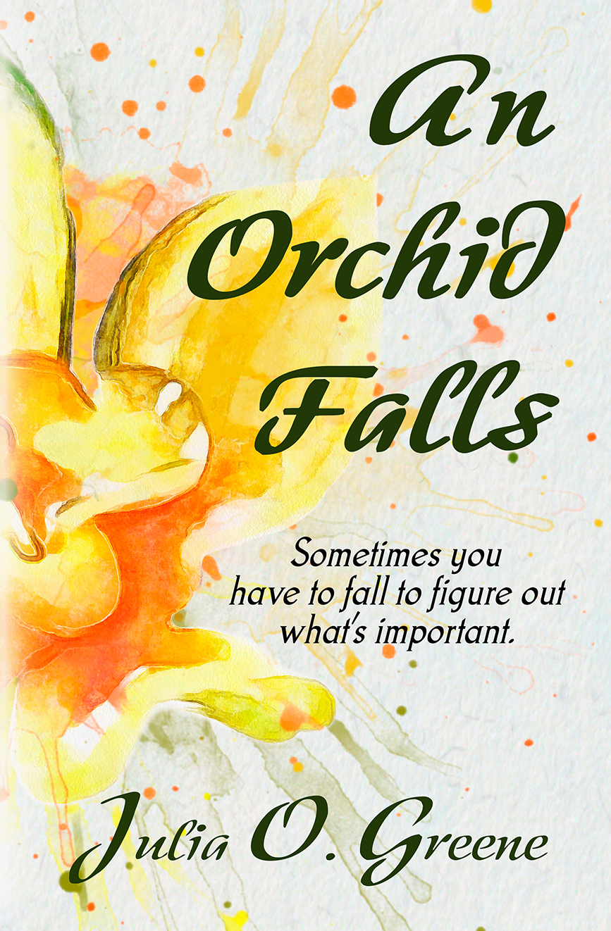 An Orchid Falls