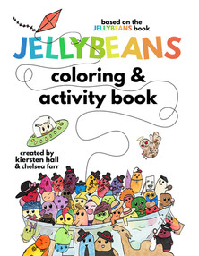 Jellybeans coloring & activity book