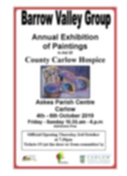 Barrow Valley Exhibition poster_October