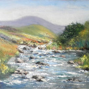Mountain Stream, Connemara - SOLD