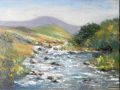 Mountain Stream, Connemara