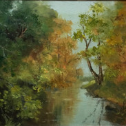 Autumn Reflections - SOLD