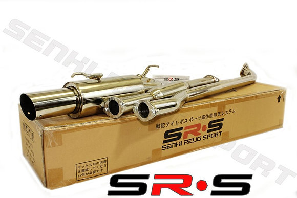SRS Toyota Corolla 93-97 catback exhaust system