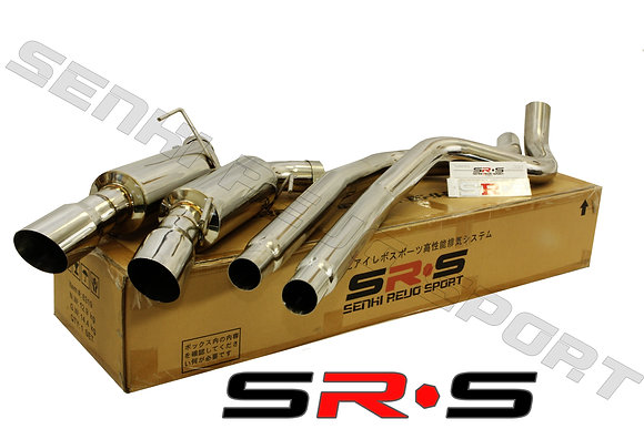 SRS Ford Mustang GT V8 05-08 catback exhaust syste