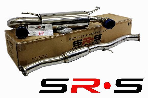 SRS Nissan 350Z 02-07 Burned Tip catback exhaust s