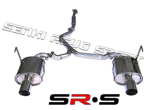 SRS Subaru WRX 08-09 4Dr catback exhaust system