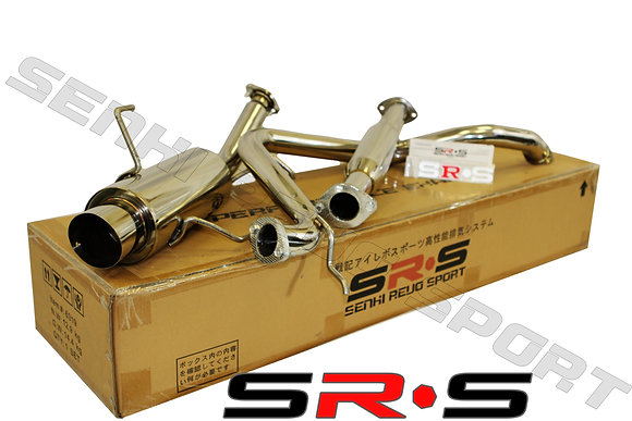 SRS Nissan Sentra 95-99 2.0L catback exhaust syste