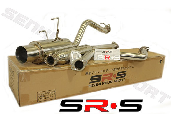 SRS Honda Civic 92-00 2/4DR EX catback exhaust sys