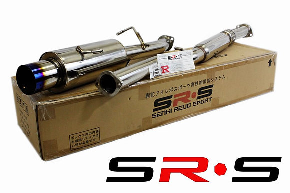 SRS Subaru WRX TURBO 02-07 Burned Tip catback exha