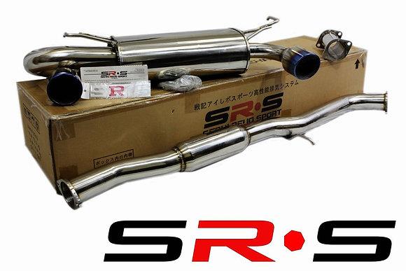 SRS INFINITY G35 03-07 2D Burned Tip catback exhau