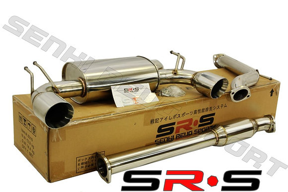 SRS Mitsubishi EVO X TYPE-RE Catback Exhaust Syste