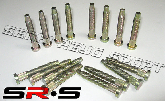 SRS EXTENDED WHEEL STUDS SET