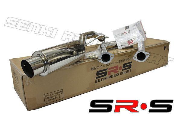 SRS Mitsubishi Lancer LS 02-06 catback exhaust sys