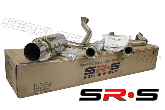 SRS Mazda 3 Hatchback 3D 04-09 catback exhaust sys
