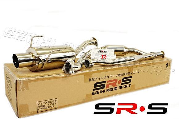SRS Honda FIT 06-08 catback exhaust system