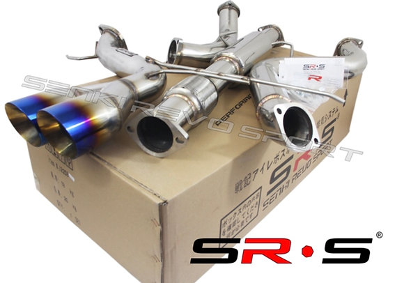 """SRS TYPE-R1 CATBACK EXHAUST SYSTEM  2013 - 2018 FORD FOCUS ST 2.0L TURBO 3"""" BURN"""