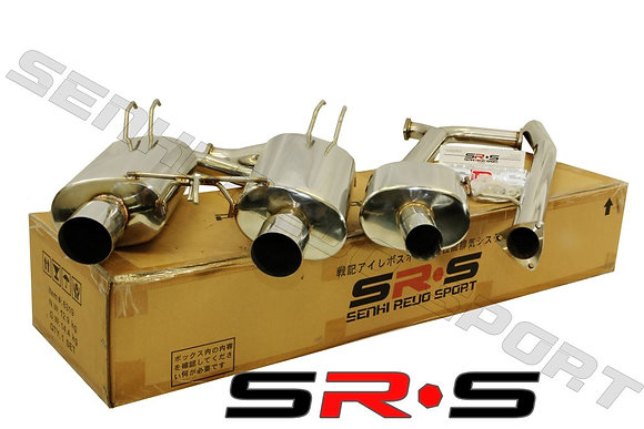 SRS ACURA TSX 04-08 TYPE-RE Catback Exhaust Syste