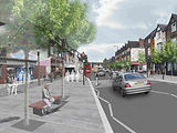 Urban Flow Public Realm Scheme Design co