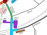 Urban Flow Access & Movement Spray Stree