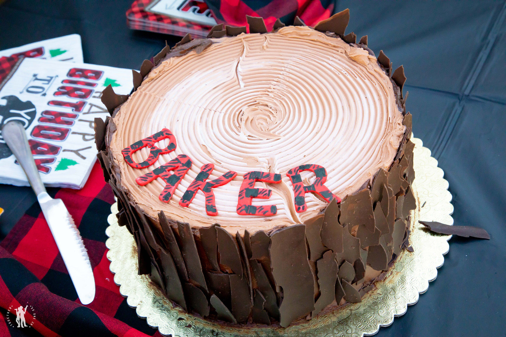 Birthday cake for the guests of Baker