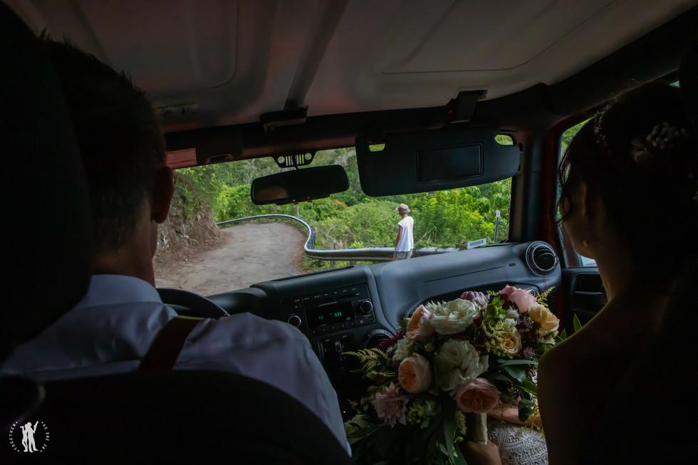 Hawaii Wedding Photography Bride and Gro