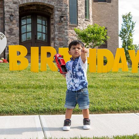 Birthday West Chester, Ohio: Krish's Second Birthday