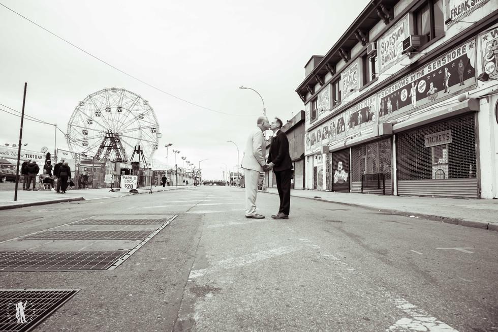 Coney Island Wedding in New York City We