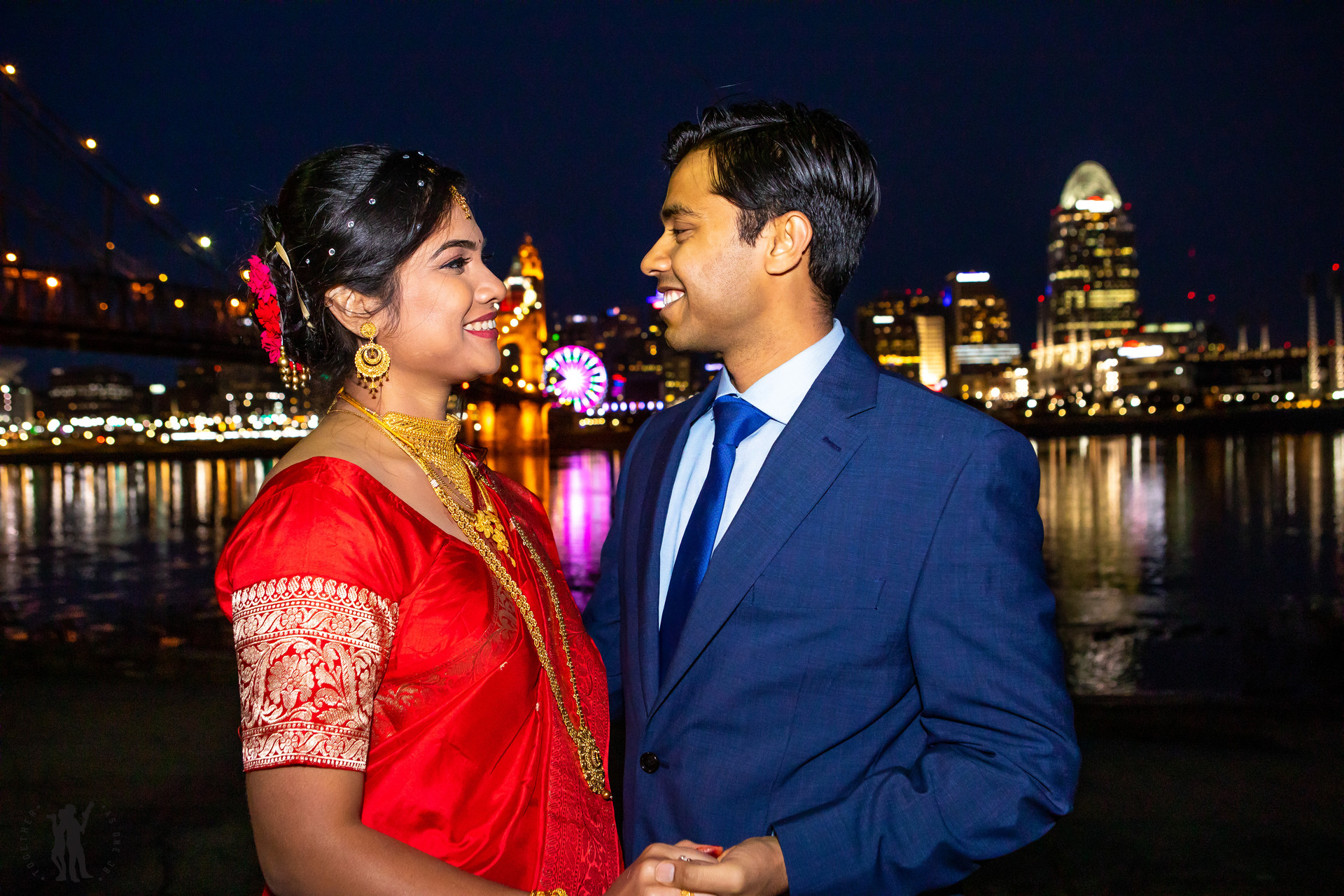 Indian Wedding couple wedding portraits