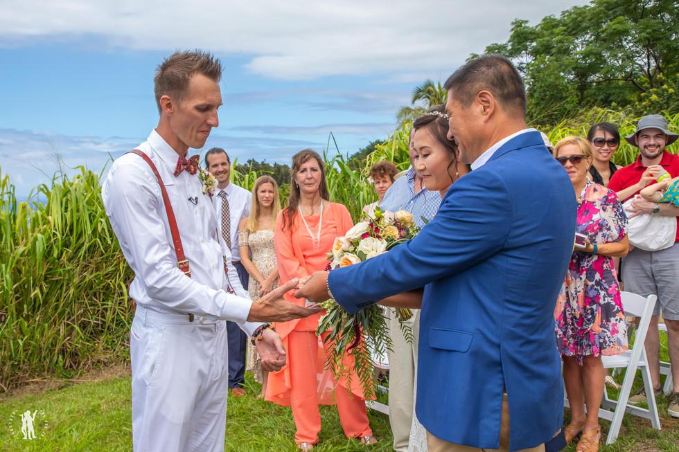 Hawaii Wedding Photography Hawaiian Cere