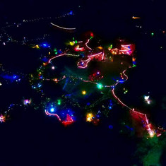 GLOW! from above, photo by Andrew Kirk