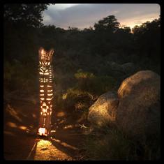 Totem Lanterns by Joy Fox