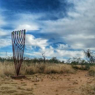 Charles Tearney Metal Sculpture