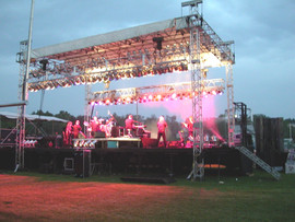 Stage From Behind during Lee Greenwood S
