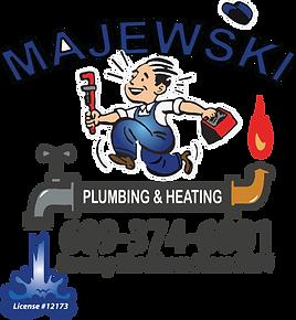 Majewski Plumbing Logo for White.png