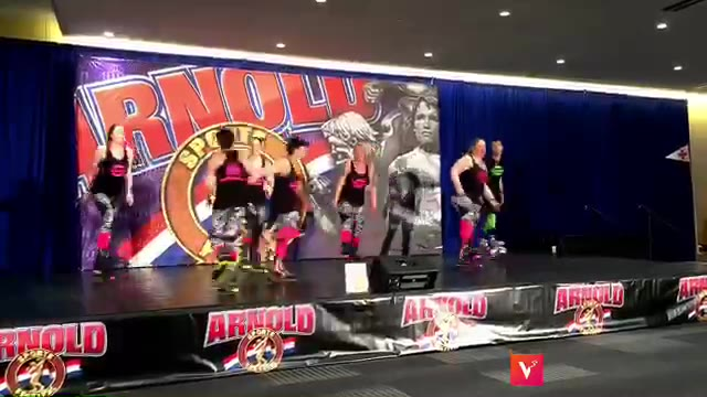 2018 Kangoo Jumps Demo at the Arnold Classic Sports Festival  #arnoldclassic #arnoldclassic2018 #fitnessandyoga #funfitcle #demo #kangoojumps #bounce #cardio #fitness #workout #expo #columbus #ohio #cleveland #demoteam