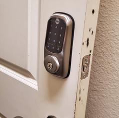 Lock changing Residential Keypad Installation