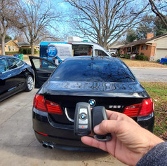 Car key replacement 2012 BMW 528I All Key Lost