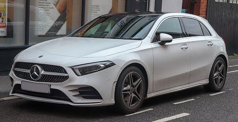 2018_Mercedes-Benz_A200_AMG_Line_Premium