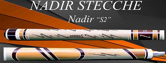 Stecche da biliardo intenazionale Nadir con Nadir s2 Quarta Andrea