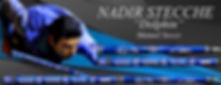 Stecche da biliardo intenazionale Nadir Dolphin con Manuel Socco