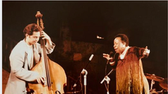 With Betty Carter