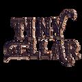 the tiny cellar logo - metallic _ short