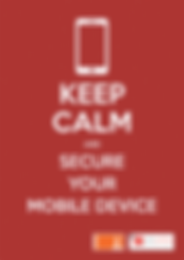 Call-to-Actions Poster - Secure Your Mobile Device
