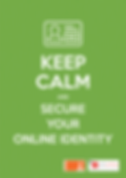 Call-to-Actions Poster - Secure Your Online Identity