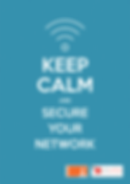 Call-to-Actions Poster - Secure Your Network