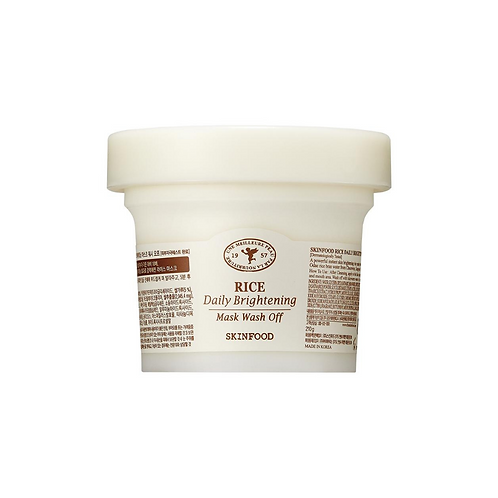 SKINFOOD Rice Daily Brightening Mask Wash Off