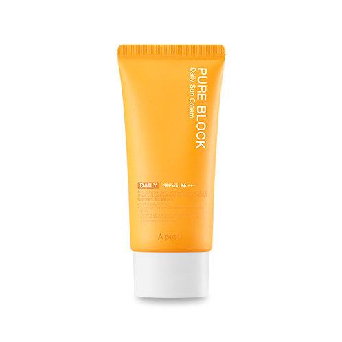 A'PIEU Pure Block Natural Daily Sun Cream SPF45/PA+++ (50 ml)